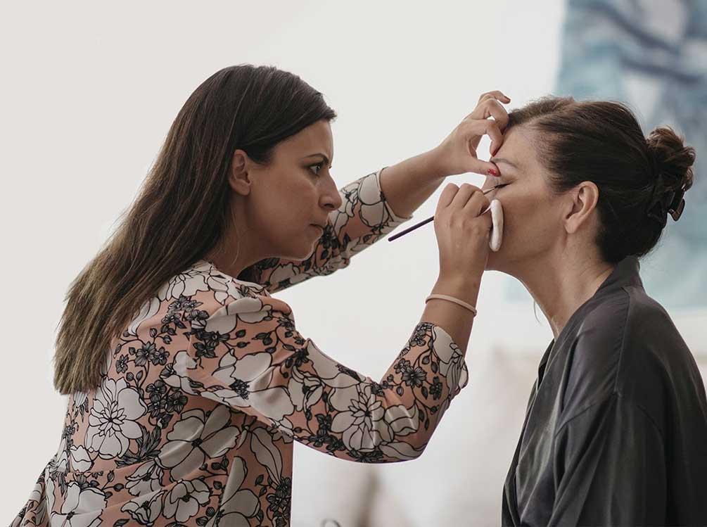 helen aroca maquilladora novias